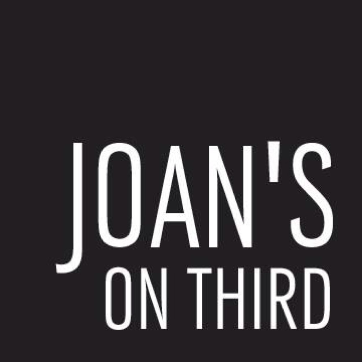 Joan's on Third Social Profile
