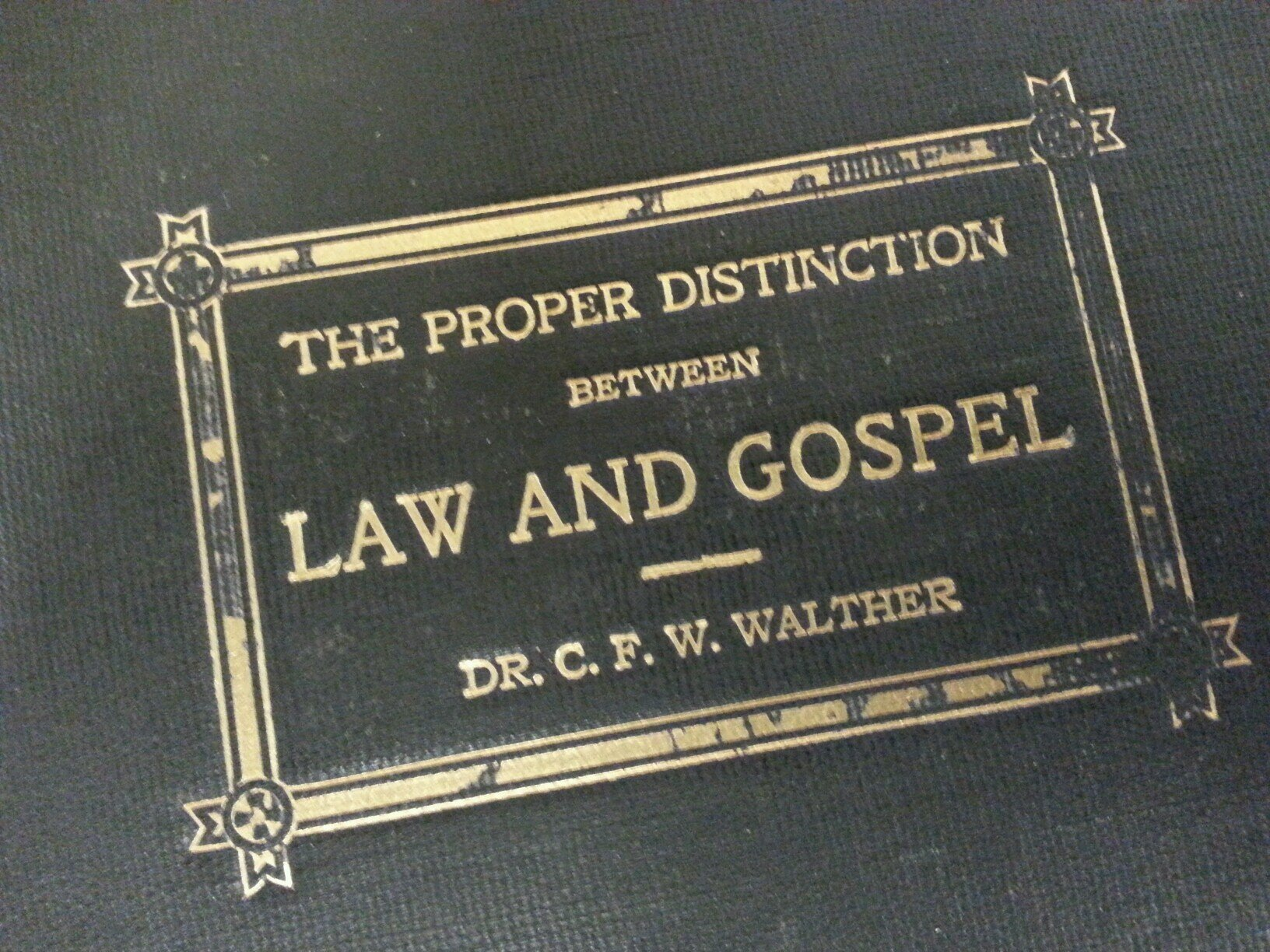 CFW WALTHER LAW AND GOSPEL EBOOK DOWNLOAD