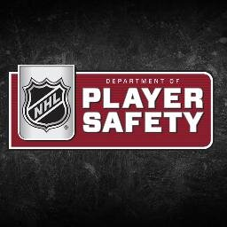 Official Twitter account for the NHL Department of Player Safety