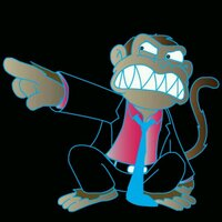Angry Drunk Monkey