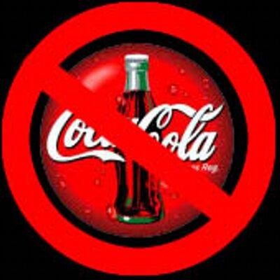 #BoicotCocacola