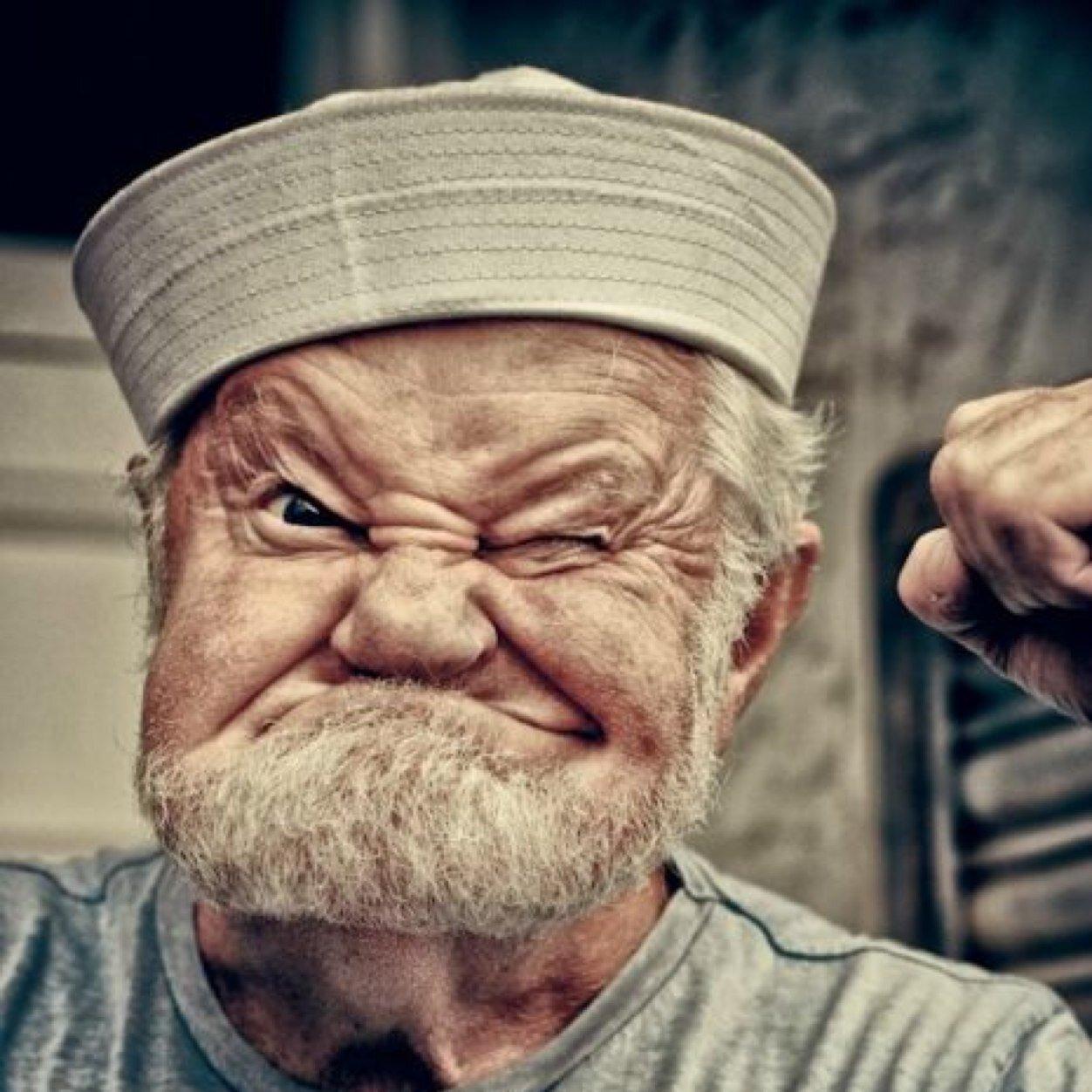 Картинка деда смешного