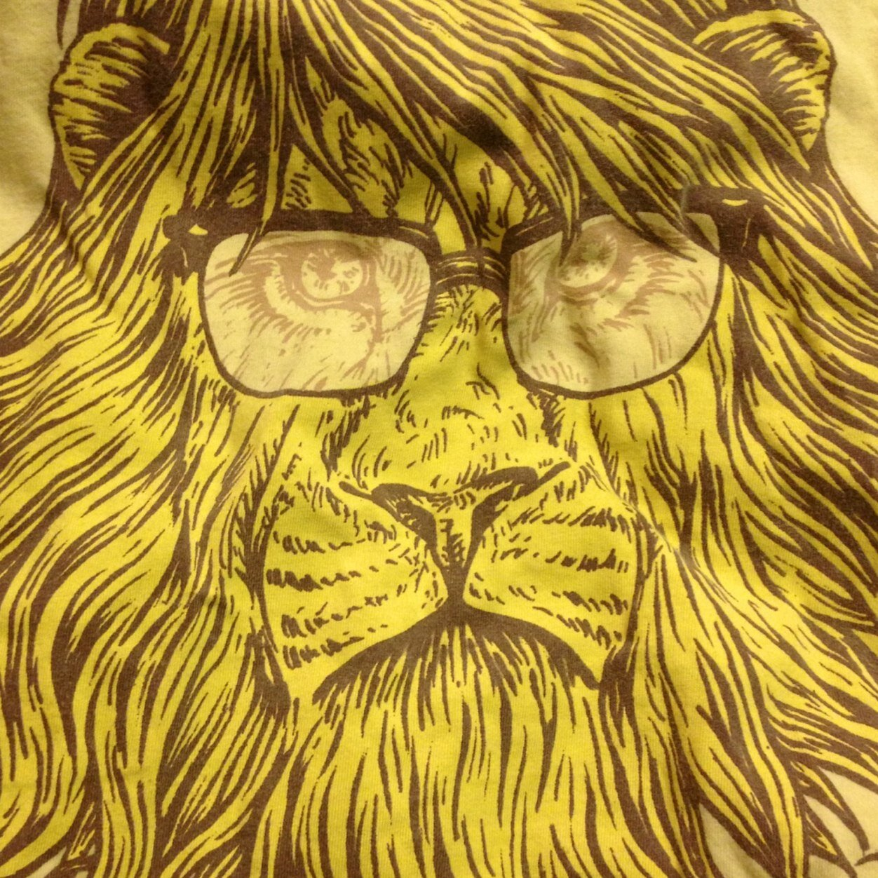 Lion hipster - photo#42