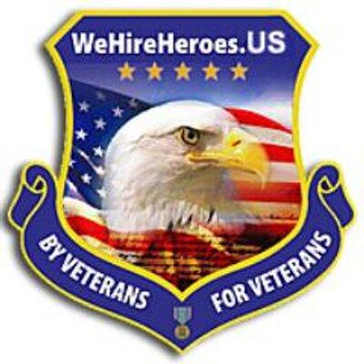 We Hire Heroes Wehireheroes Twitter