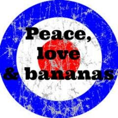 Peace,Love&Bananas