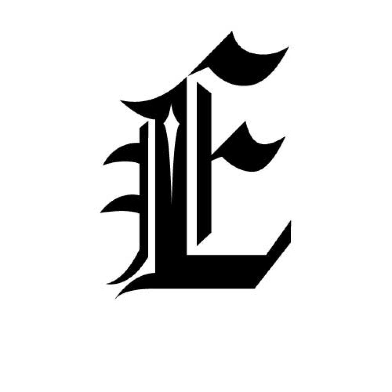 tatouage lettre e et g et l