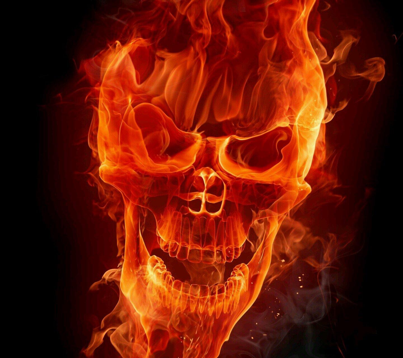фото на аву череп в огне что мимо ингредиентов