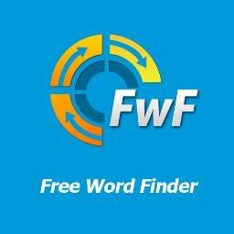Free Word Finder Freewordfinder Twitter