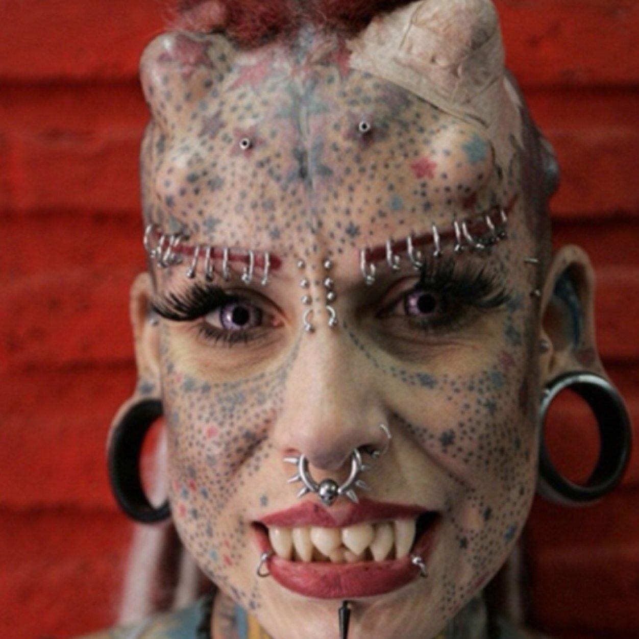 Unusual body piercings