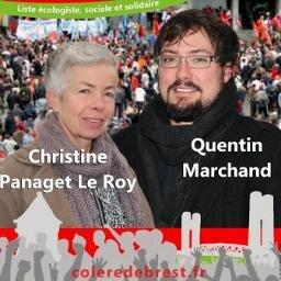 Brest, quentin marchand a présenté son programme (of) dans A gauche du PS