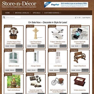 Store n decor store n decor twitter for Shop decoration items