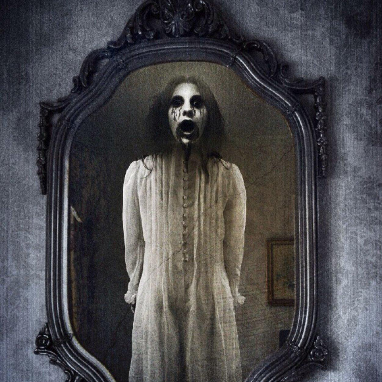 Зеркало с призраком картинки