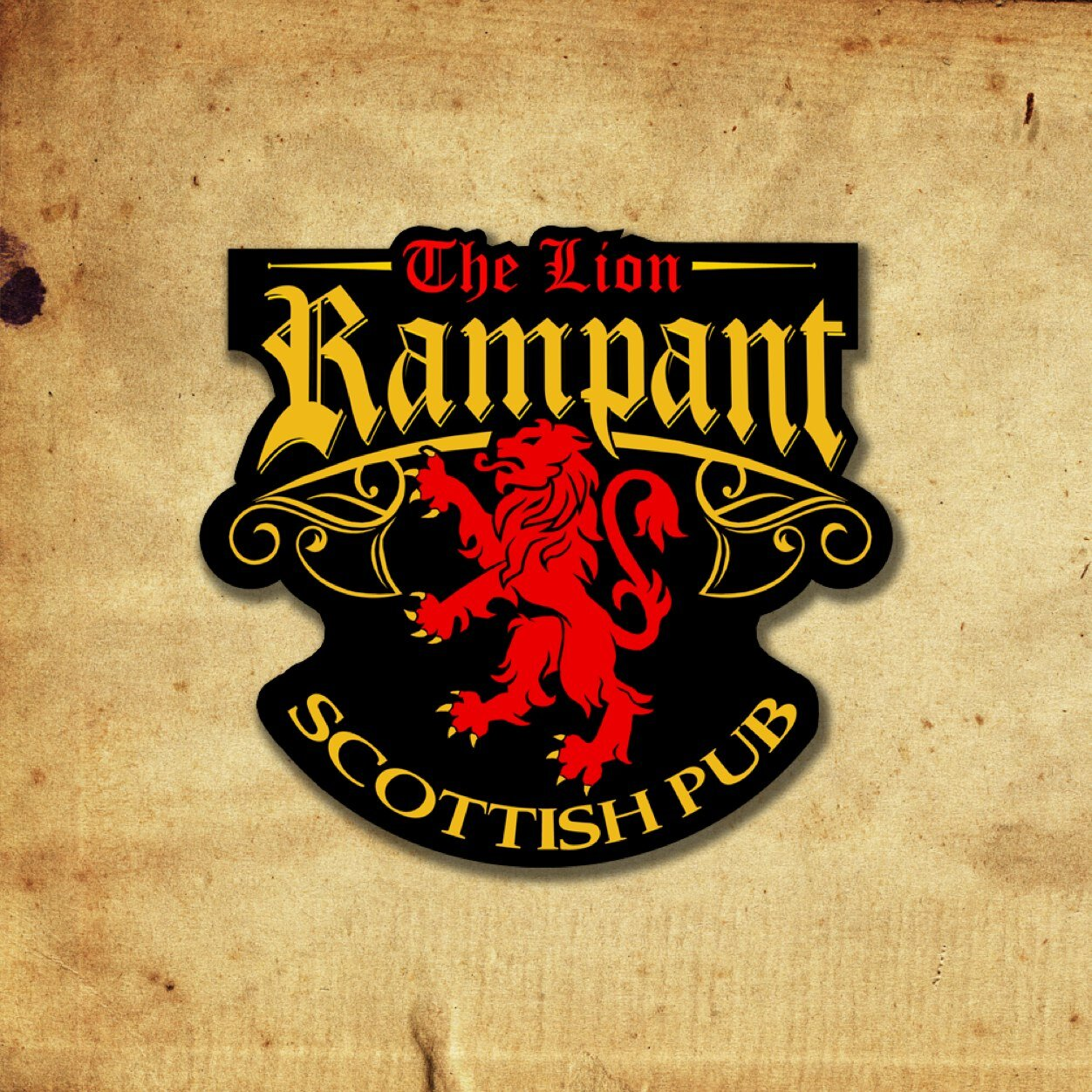 6be33a3e30bf1 The Lion Rampant Pub on Twitter: