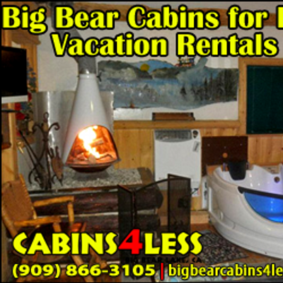 Big bear cabins4less cabins4less twitter for Usmc big bear cabins