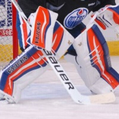 The gallery for --> Ben Scrivens Oilers Pads
