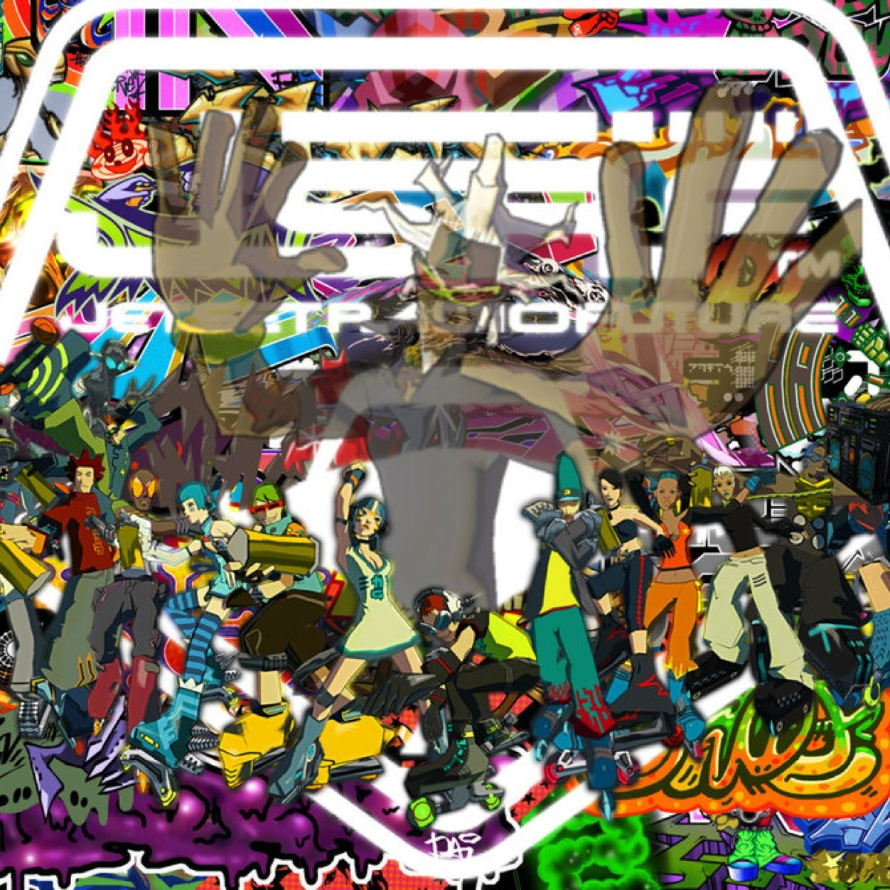 Remarkable Jet Set Radio Future Jetsetradiofan Twitter Funny Birthday Cards Online Fluifree Goldxyz