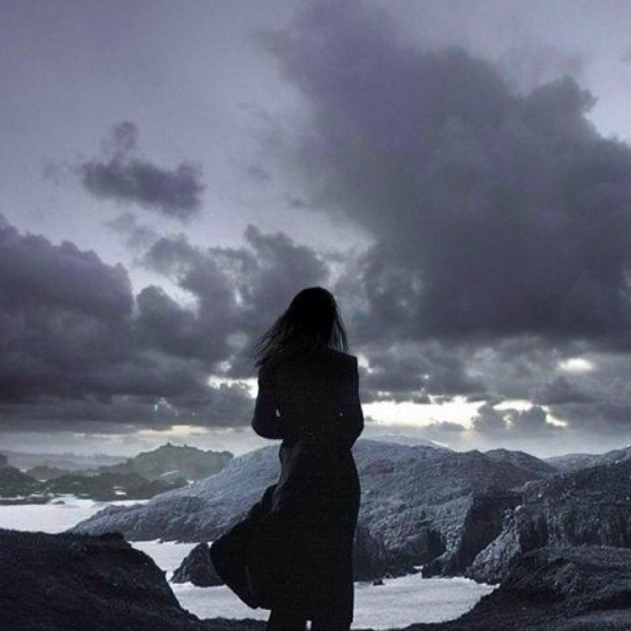 Дню, картинка с надписью одинокая душа
