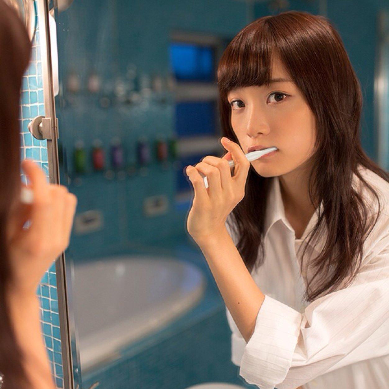 深川麻衣 歯磨き