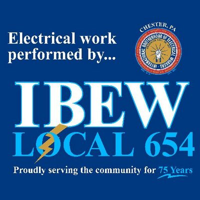 IBEW 654 (@ibewlu654) Twitter profile photo