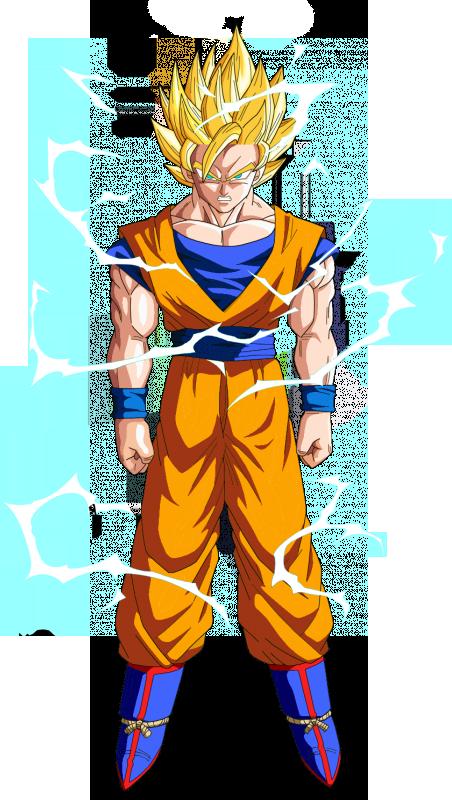 Goku1 goku181594068 twitter - Sangoku super sayen 2 ...