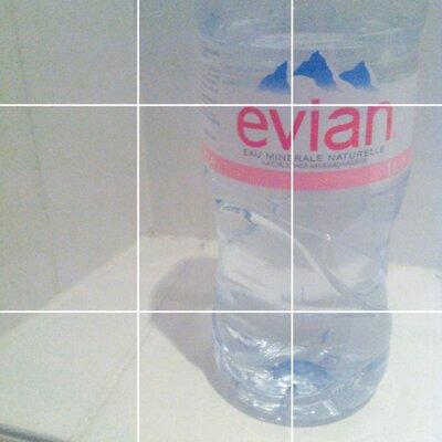evian vatten innehåll