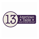 13 American Table (@13AmericanTable) Twitter