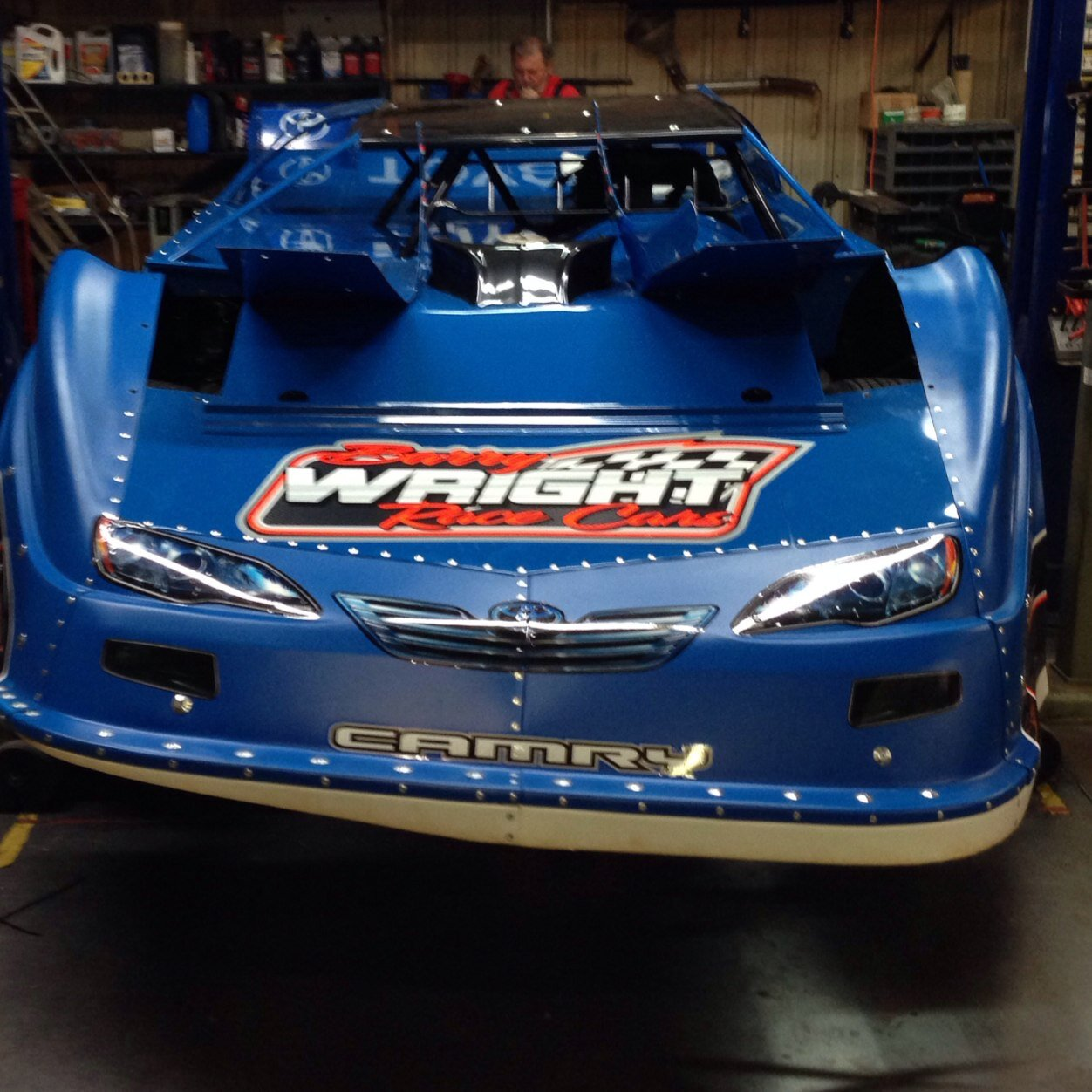Barry Wright Race Cars Icon