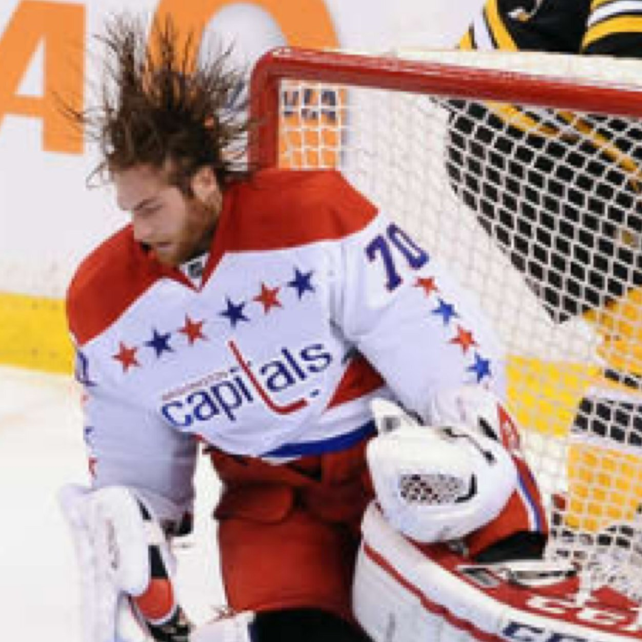 Holtbys Hair On Twitter And Well Have Claude Giroux Visiting