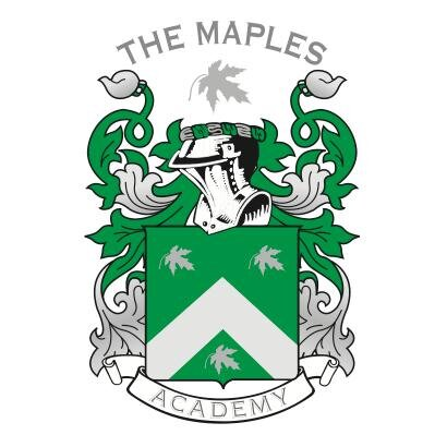 Image result for the maples school crest
