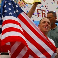 Joey Chestnut (@joeyjaws) Twitter profile photo