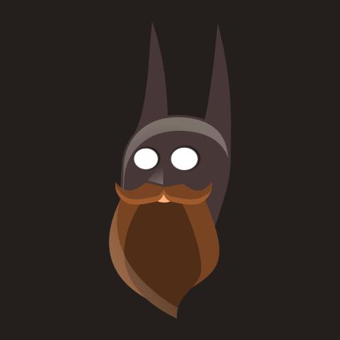 Bearding Batman Batman With a Beard