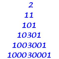 Palindromic Primes