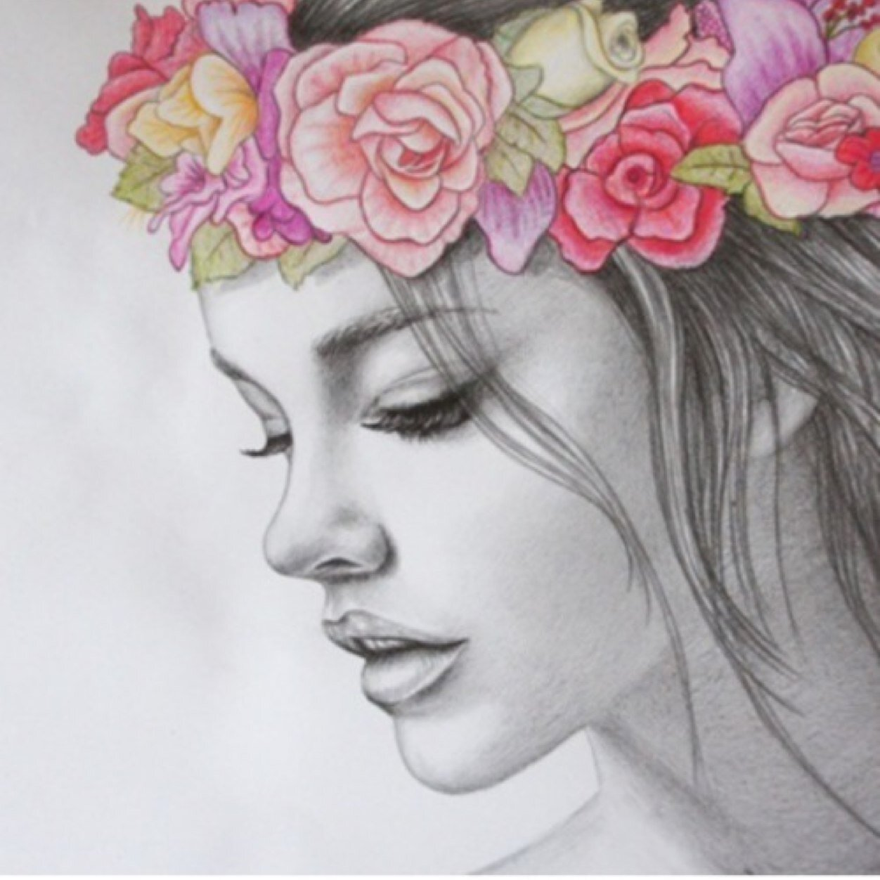 Nami Su May Flowers By Queenbean3 Find This Pin And More On Howtodraw  Tutorials Rose Tinted