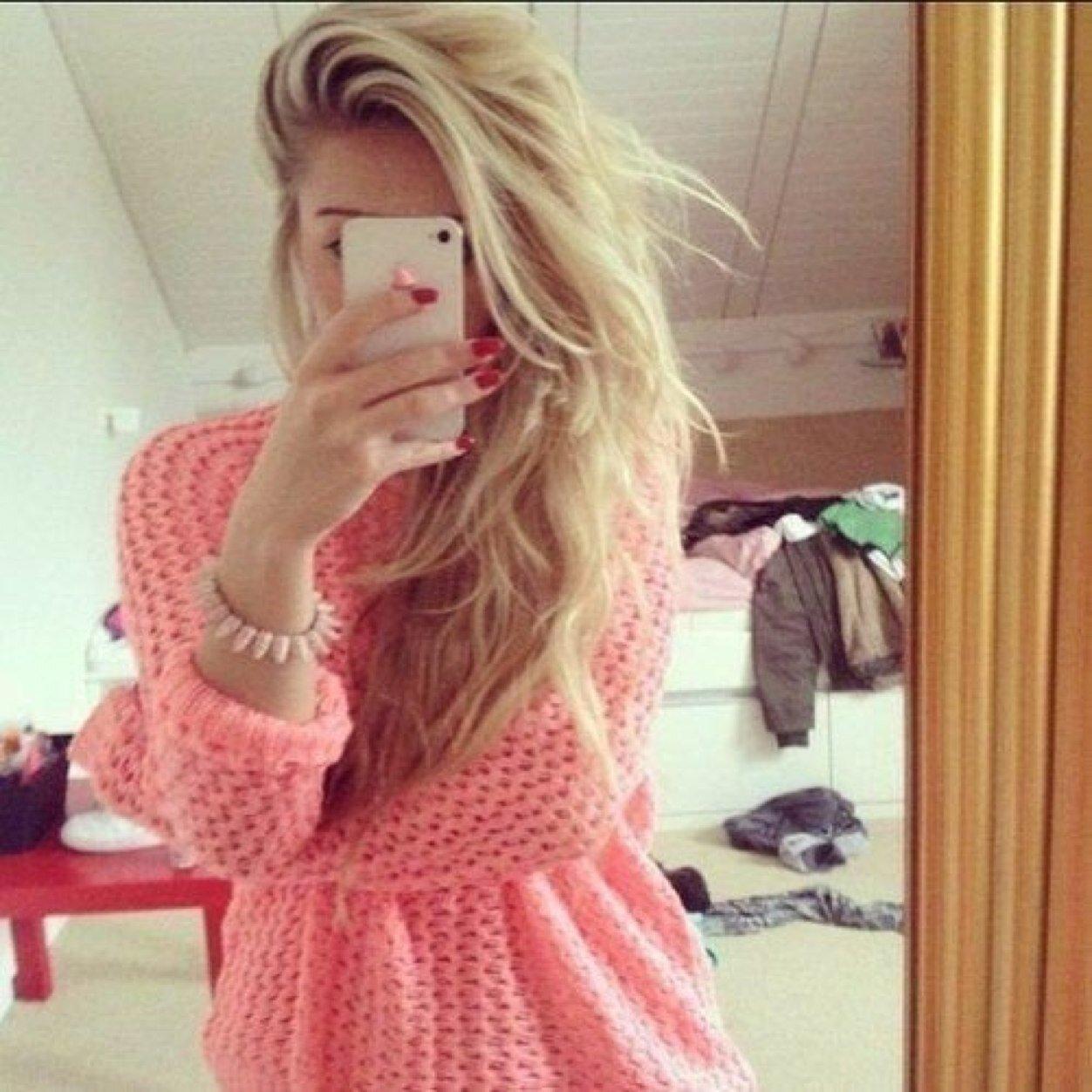 Фото девушек домашние блондинки 7 фотография