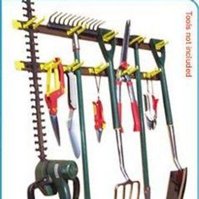 Garden tool racks tooltidy twitter for Gardening tools jakarta