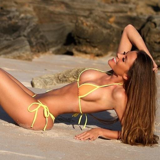 Black glamour models bikini list