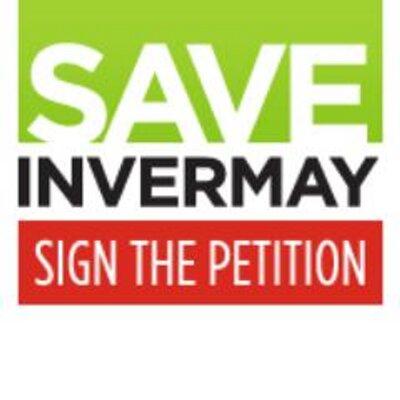Save Invermay logo