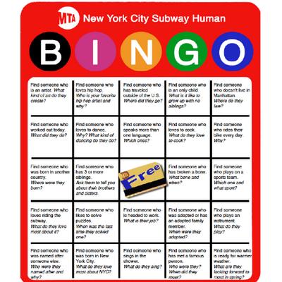 Human Bingo (@HumanBingoNYC)   Twitter
