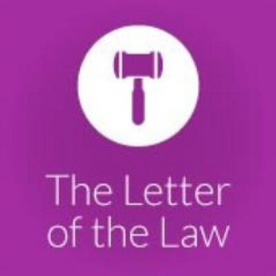letter of the law letter of the letter ofthelaw 23099 | WEM5i3gk 400x400