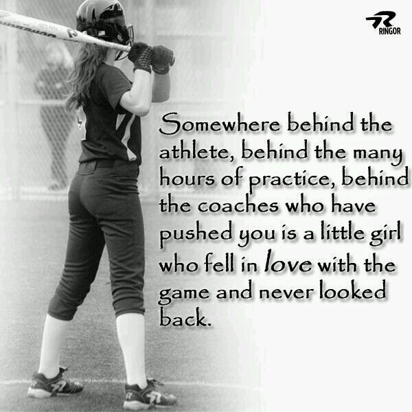 Game Of Love Quotes: I Love Softball Quotes Girls. QuotesGram