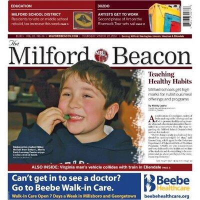 The Milford Beacon Milfordbeaconde Twitter