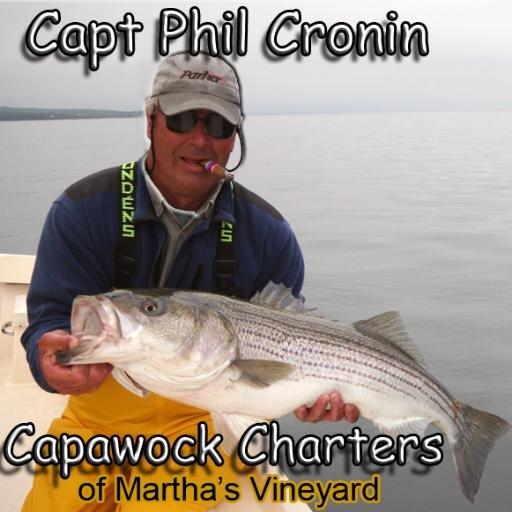 Phil cronin captphilcronin twitter for Martha s vineyard fishing charters
