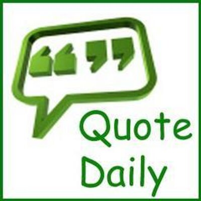 Daily Quote | Daily Quotes Thought Quotedaily Twitter