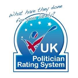 UK politician rating