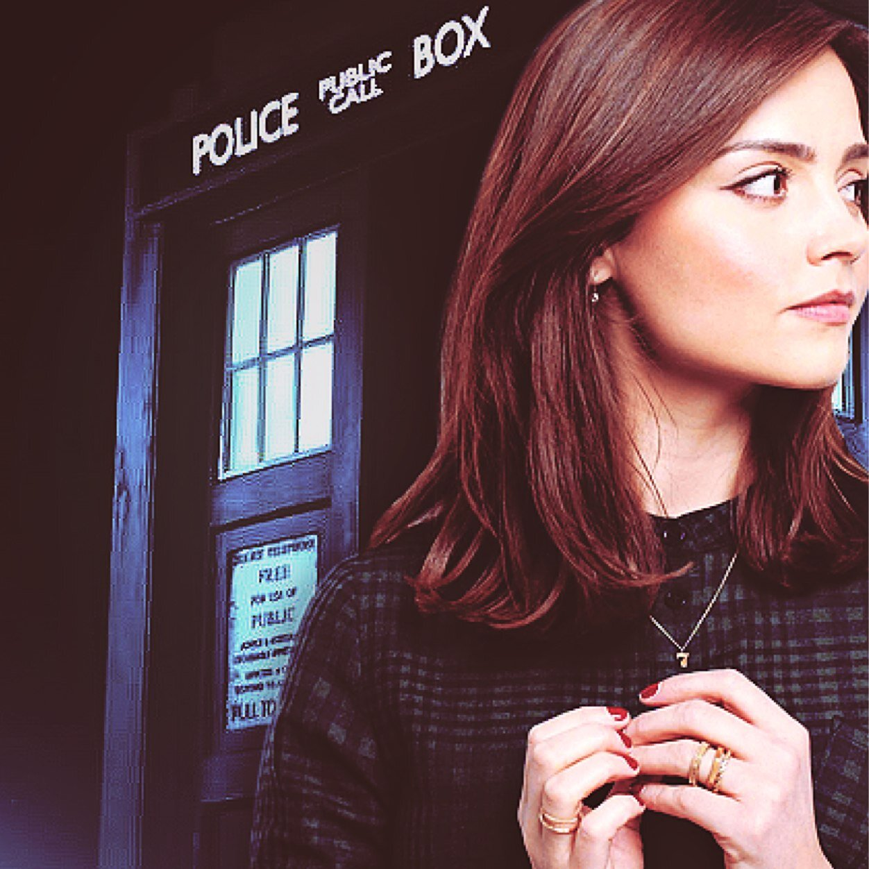 Image result for clara oswald tardis