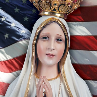 Image result for our lady of fatima and america