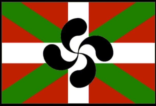 Risultati immagini per bandera ikurriña