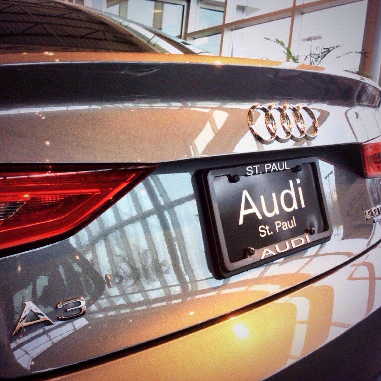 Audi StPaul AudiStPaul Twitter - Audi st paul