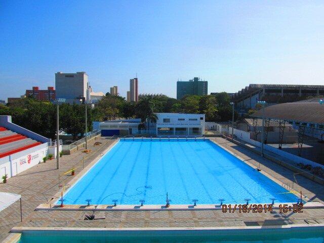 Piscina olimpica piscinaolimpic twitter for Piscina 7 de agosto