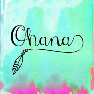 Ohana ohanaparaguay twitter for Ohana tattoo designs